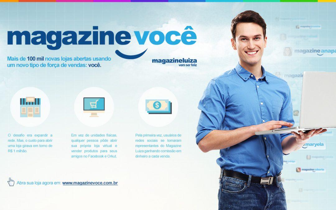 Como montar sua loja virtual Magazine Você