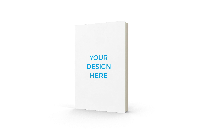 Smartmockups livro impresso em pe sem dorso