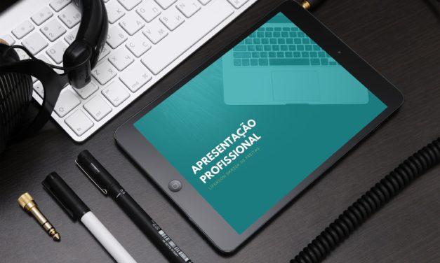 Como atrair clientes novos usando uma apresentação profissional?